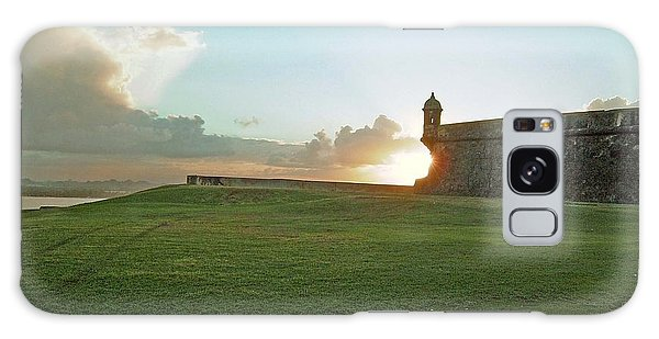 Sunset At El Morro Galaxy Case
