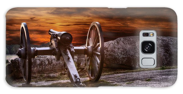 Cannon Galaxy Case - Sunset At Gettysburg by Randy Steele