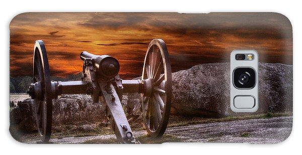 Sunset At Gettysburg Galaxy Case by Randy Steele