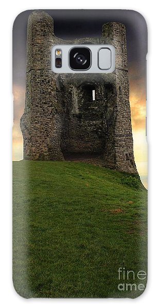 Sunset At Hadleigh Castle Galaxy Case