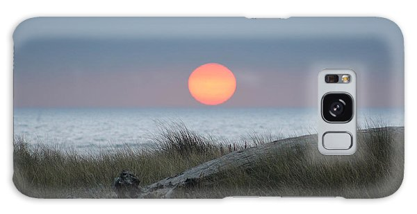 Sunset At Halfmoon Bay Galaxy Case
