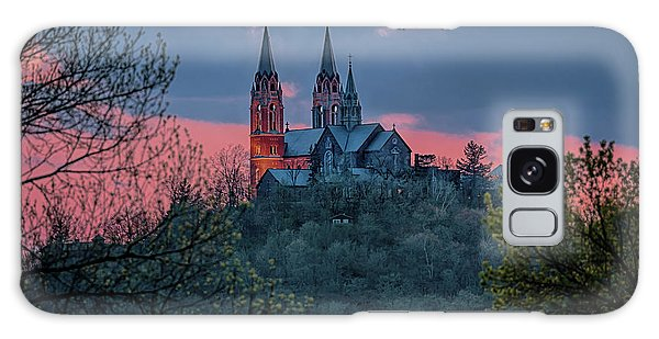 Sunset At Holy Hill Galaxy Case