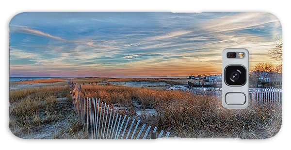 Sunset At Lighthouse Beach In Chatham Massachusetts Galaxy Case