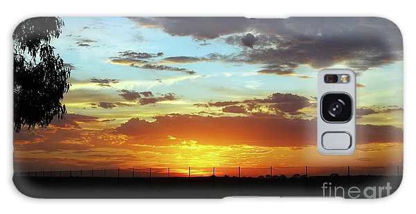 Sunset At Little River Victoria Galaxy Case by Lexa Harpell