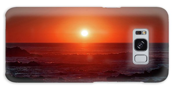 Sunset At Monterey Galaxy Case