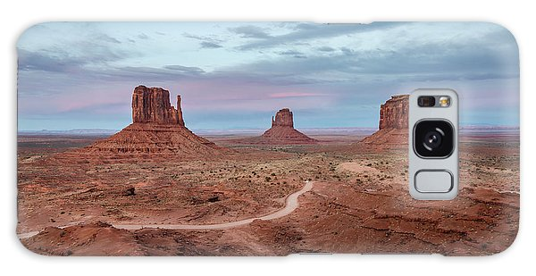 Sunset At Monument Valley No.1 Galaxy Case