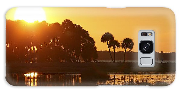 Sunset At Myakka River State Park In Florida, Usa Galaxy Case