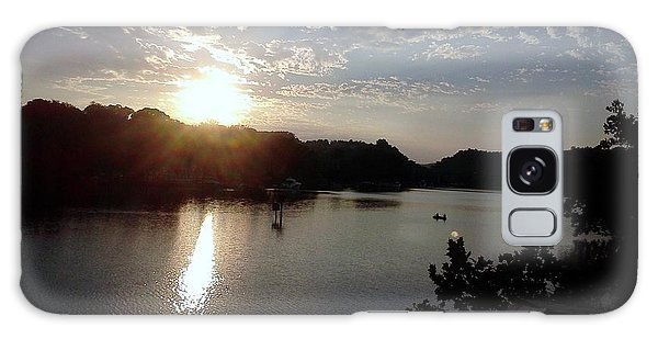 Sunset At Occoquan Galaxy Case