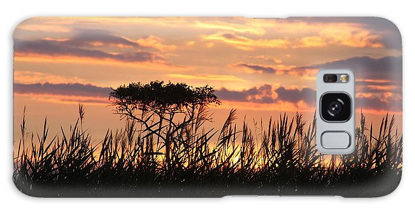 Galaxy Case featuring the photograph Sunset At Ocean City by Vadim Levin