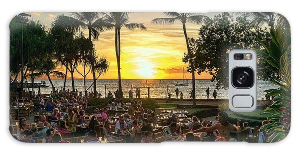Sunset At Old Lahaina Luau #1 Galaxy Case