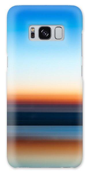 Sunset At Ottawa Lake Galaxy Case