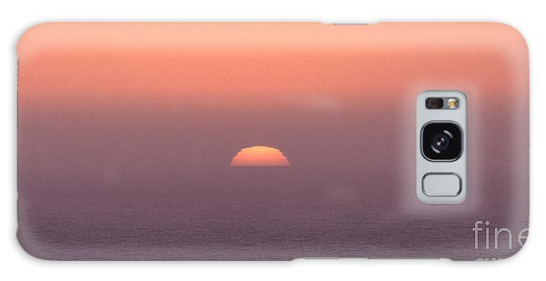 Galaxy Case featuring the photograph Sunset At Pacifica by Peter Simmons