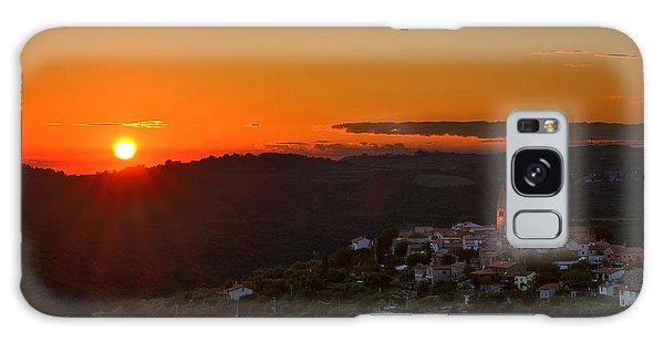 Sunset At Padna Galaxy Case