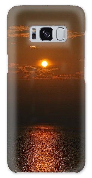 Sunset At Rameshwaram India Galaxy Case