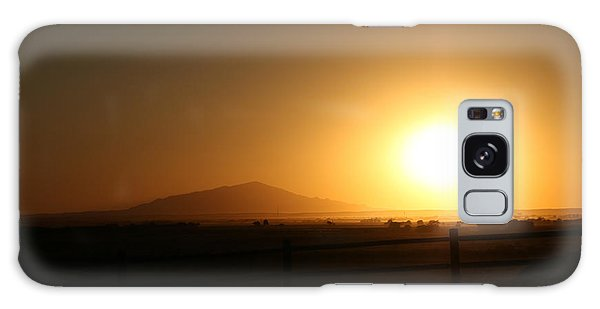 Sunset At Roswell New Mexico  Galaxy Case