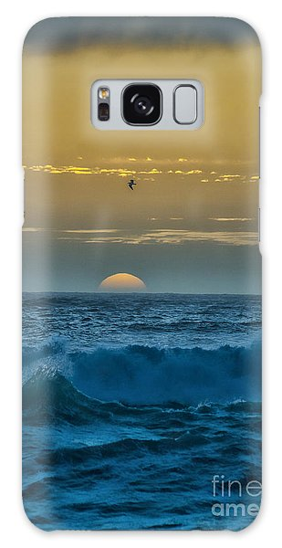 Sunset At Sea Galaxy Case by Billie-Jo Miller