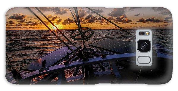 Sunset At Sea Galaxy Case