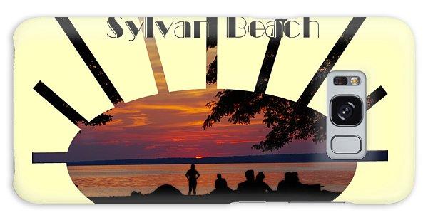 Sunset At Sylvan Beach - T-shirt Galaxy Case