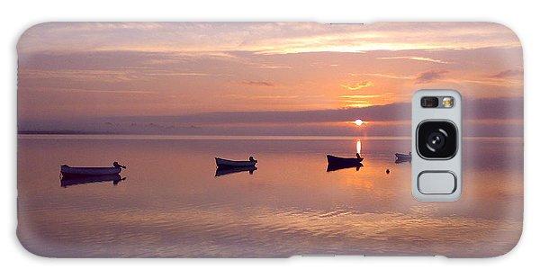 Sunset At The Estuary Galaxy Case by Martina Fagan