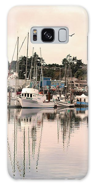 Sunset At The Marina Galaxy Case by Diane Schuster