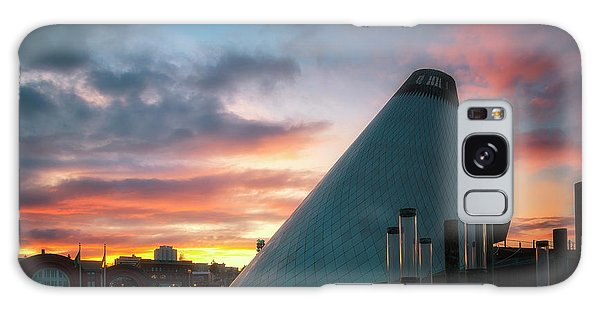 Sunset At The Museum Of Glass Galaxy Case