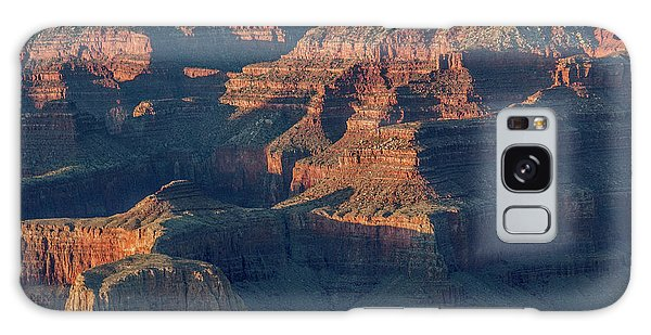 Sunset At The South Rim, Grand Canyon Galaxy Case