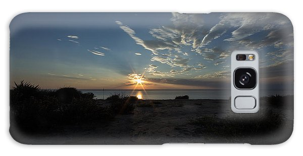 Sunset At Torrey Pines Galaxy Case