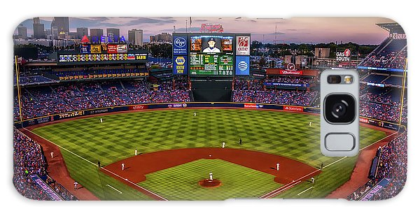Sunset At Turner Field - Home Of The Atlanta Braves Galaxy Case