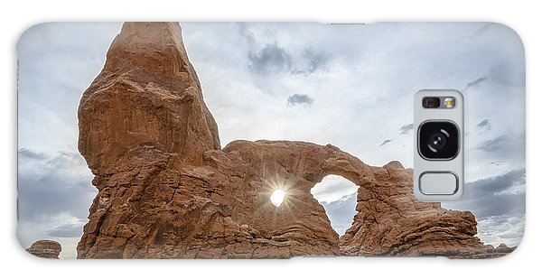 Sunset At Turret Arch Galaxy Case
