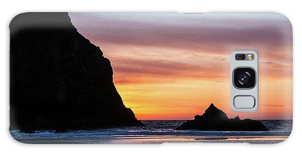 Sunset At Whalehead Beach Galaxy Case