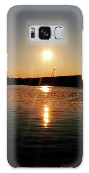 Sunset At Wolf Creek Dam Galaxy Case