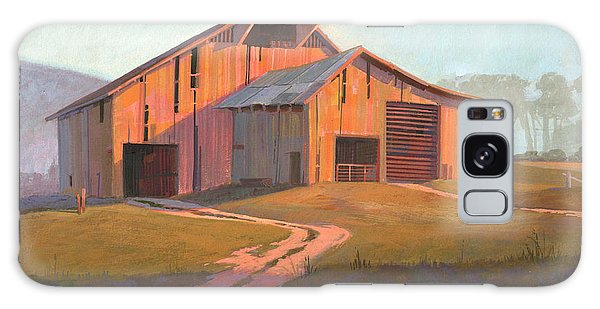 Sunset Barn Galaxy Case by Michael Humphries