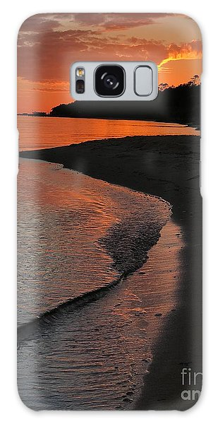 Sunset Bay Galaxy Case
