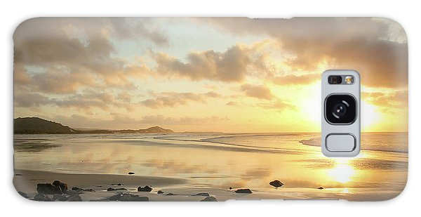 Sunset Beach Delight Galaxy Case