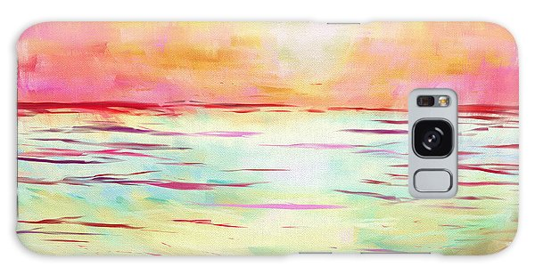 Sunset Beach Galaxy Case by Jeremy Aiyadurai
