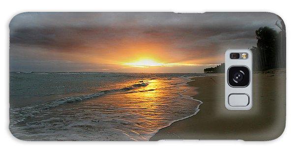Galaxy Case featuring the photograph Sunset Beach by Robert Och