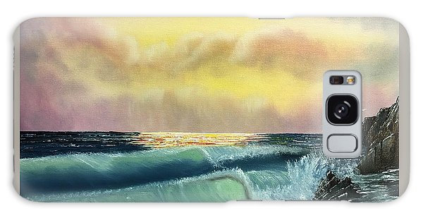 Sunset Beach Galaxy Case by Thomas Janos