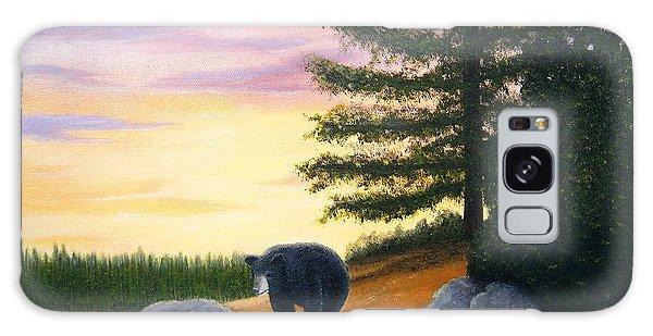 Sunset Bear Galaxy Case