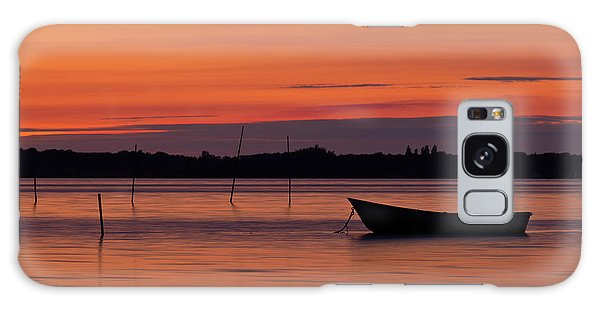 Canary Galaxy S8 Case - Sunset Boat by Gert Lavsen