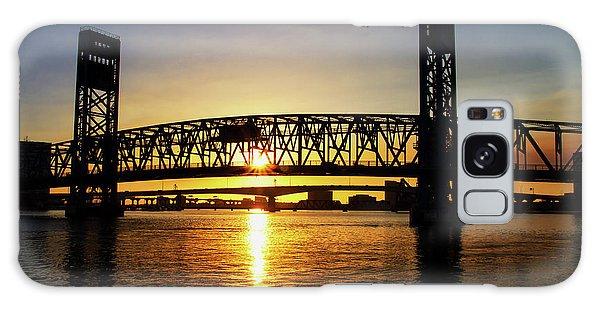 Sunset Bridge 1 Galaxy Case