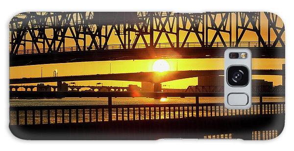 Sunset Bridge 3 Galaxy Case