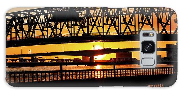 Sunset Bridge 4 Galaxy Case