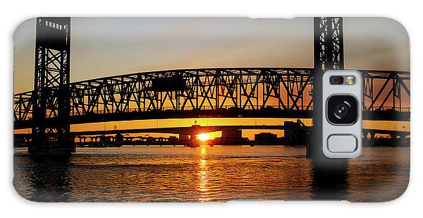 Sunset Bridge 5 Galaxy Case