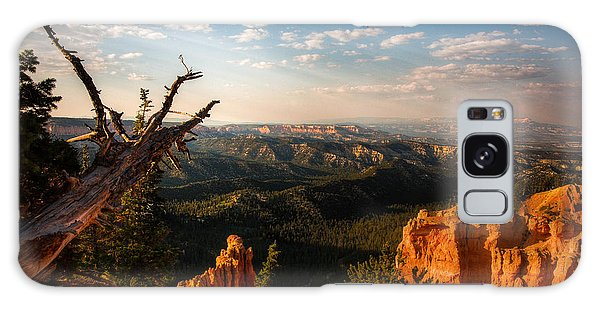 Sunset Bryce Galaxy Case by Rebecca Hiatt
