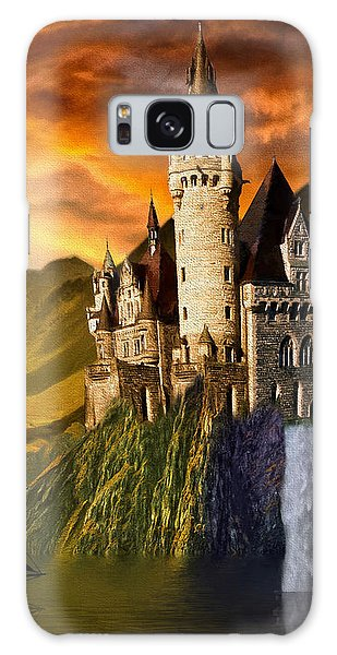 Sunset Castle Galaxy Case