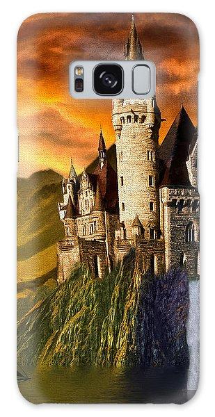Sunset Castle Galaxy Case