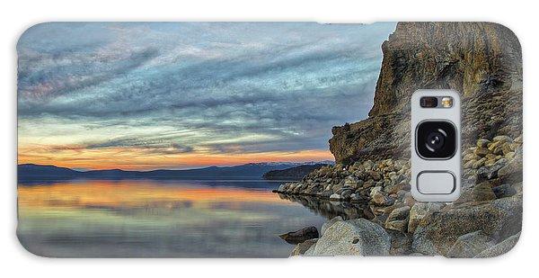Sunset Cave Rock 2015 Galaxy Case