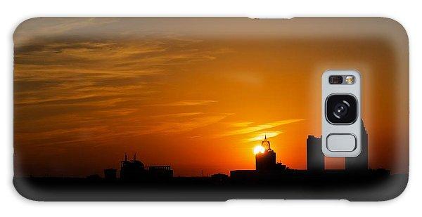 Sunset City Galaxy Case