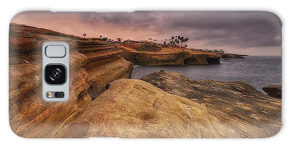 Sunset Cliffs - Point Loma - San Diego Galaxy Case