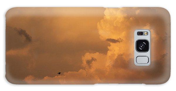Sunset Clouds 01 Galaxy Case